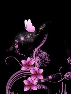 Pink And Black Dark